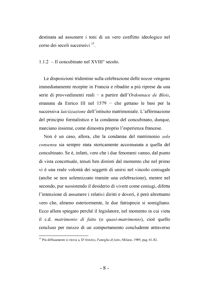 Anteprima della tesi: L'autonomia tra conviventi, Pagina 14