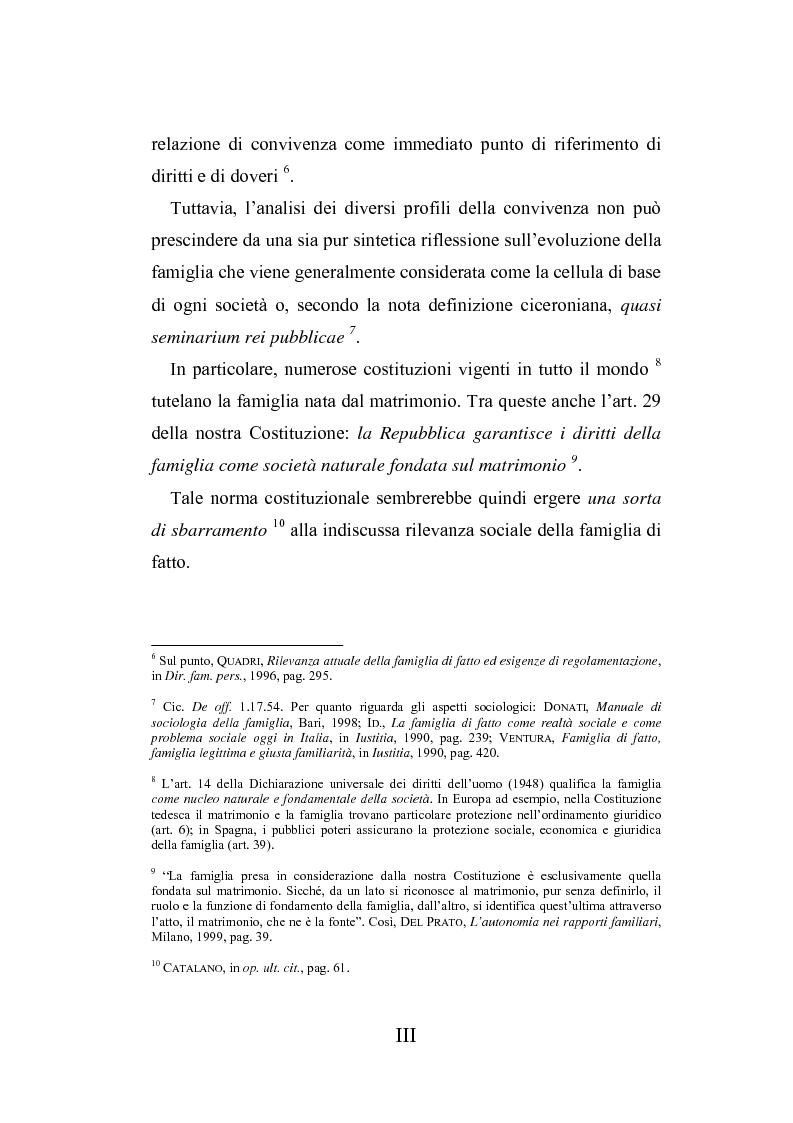 Anteprima della tesi: L'autonomia tra conviventi, Pagina 3