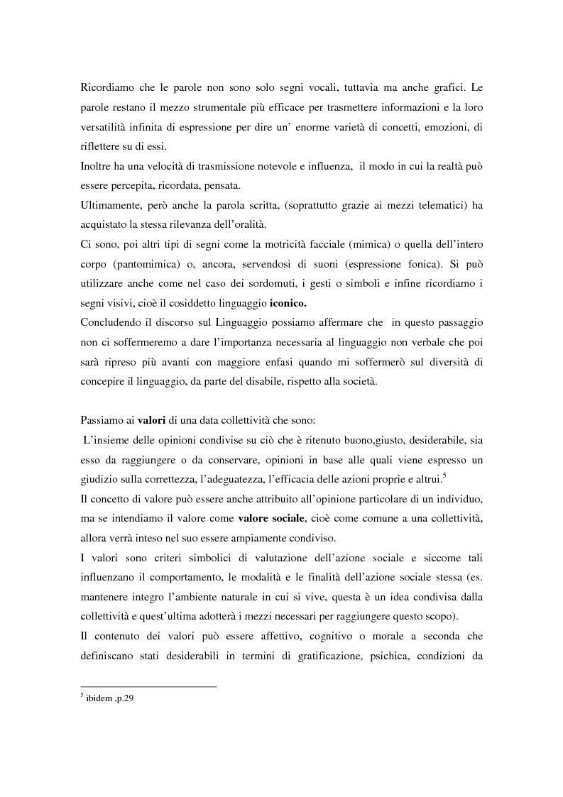Anteprima della tesi: Integrazione sociale: multimedialità e teatro nel mondo del disabile fisico, Pagina 11