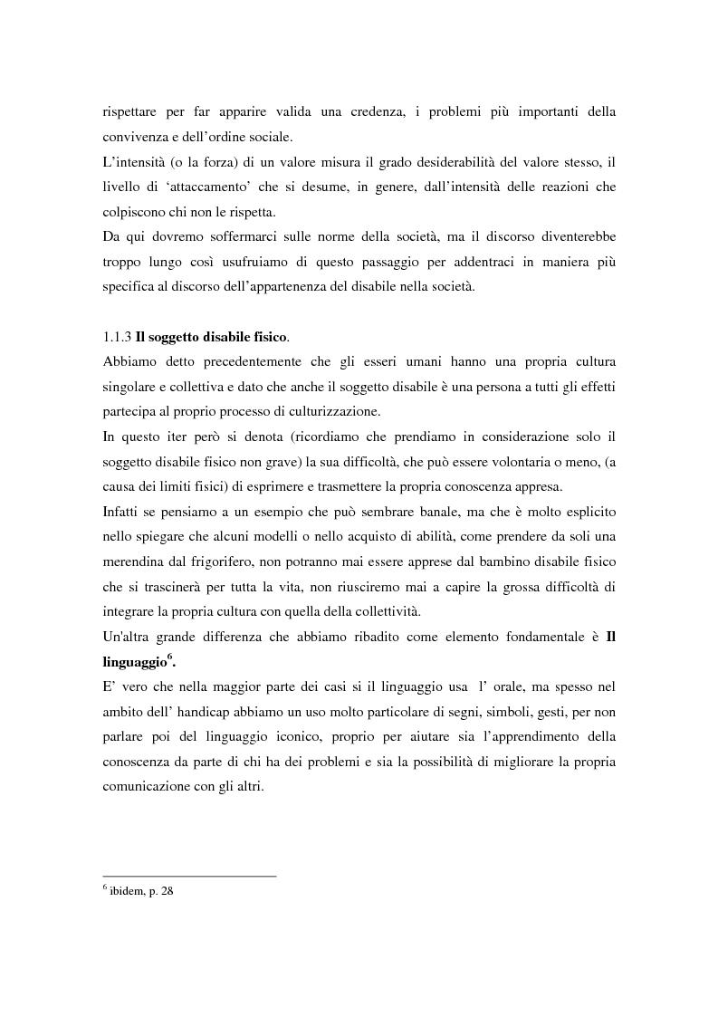 Anteprima della tesi: Integrazione sociale: multimedialità e teatro nel mondo del disabile fisico, Pagina 12