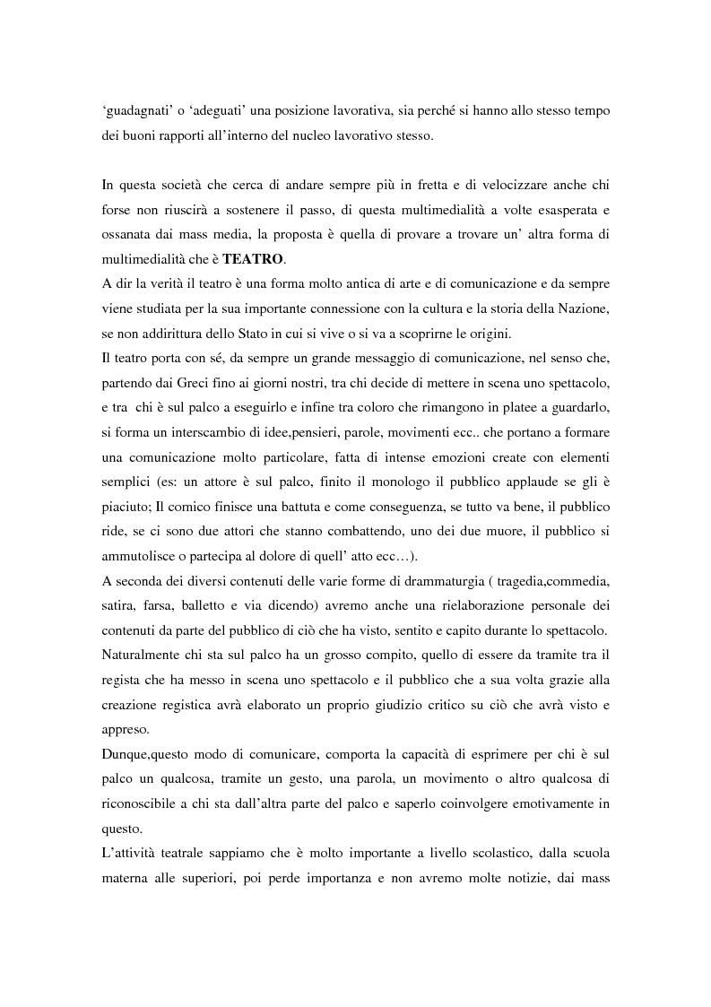 Anteprima della tesi: Integrazione sociale: multimedialità e teatro nel mondo del disabile fisico, Pagina 4