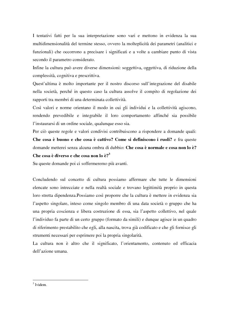 Anteprima della tesi: Integrazione sociale: multimedialità e teatro nel mondo del disabile fisico, Pagina 9