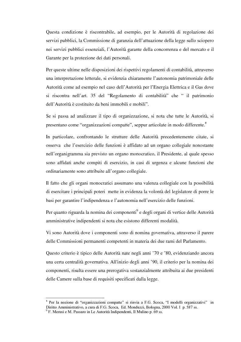 Anteprima della tesi: Le Autorità indipendenti: profili di diritto comparato, Pagina 6