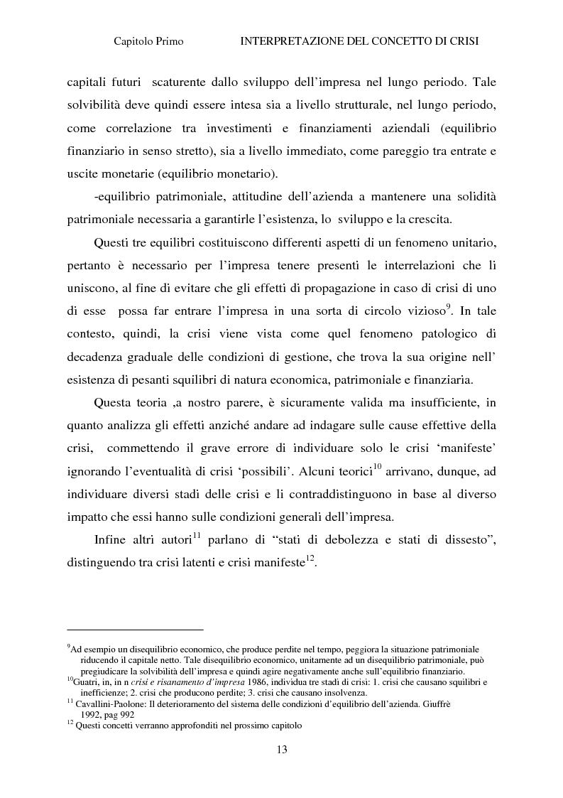 Anteprima della tesi: Crisi d'impresa e strategie di risanamento aziendale: il turnaround delle Ferrovie dello Stato, Pagina 12