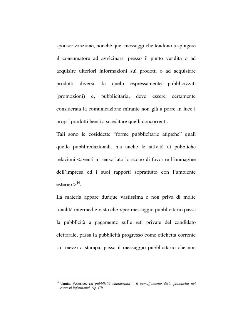 Anteprima della tesi: La pubblicità occulta, Pagina 11