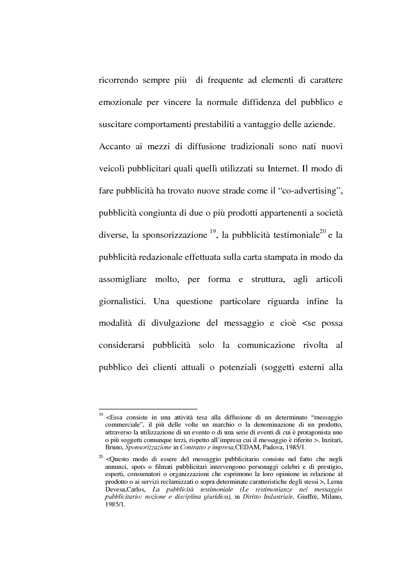 Anteprima della tesi: La pubblicità occulta, Pagina 14