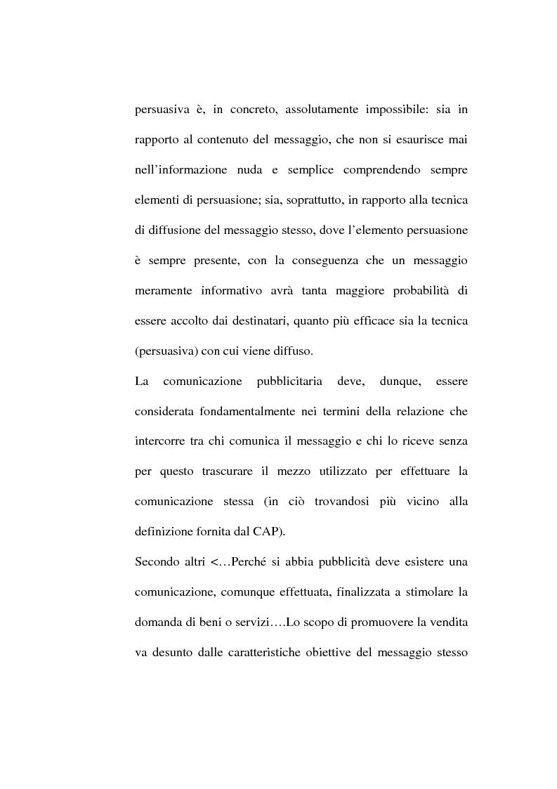 Anteprima della tesi: La pubblicità occulta, Pagina 8