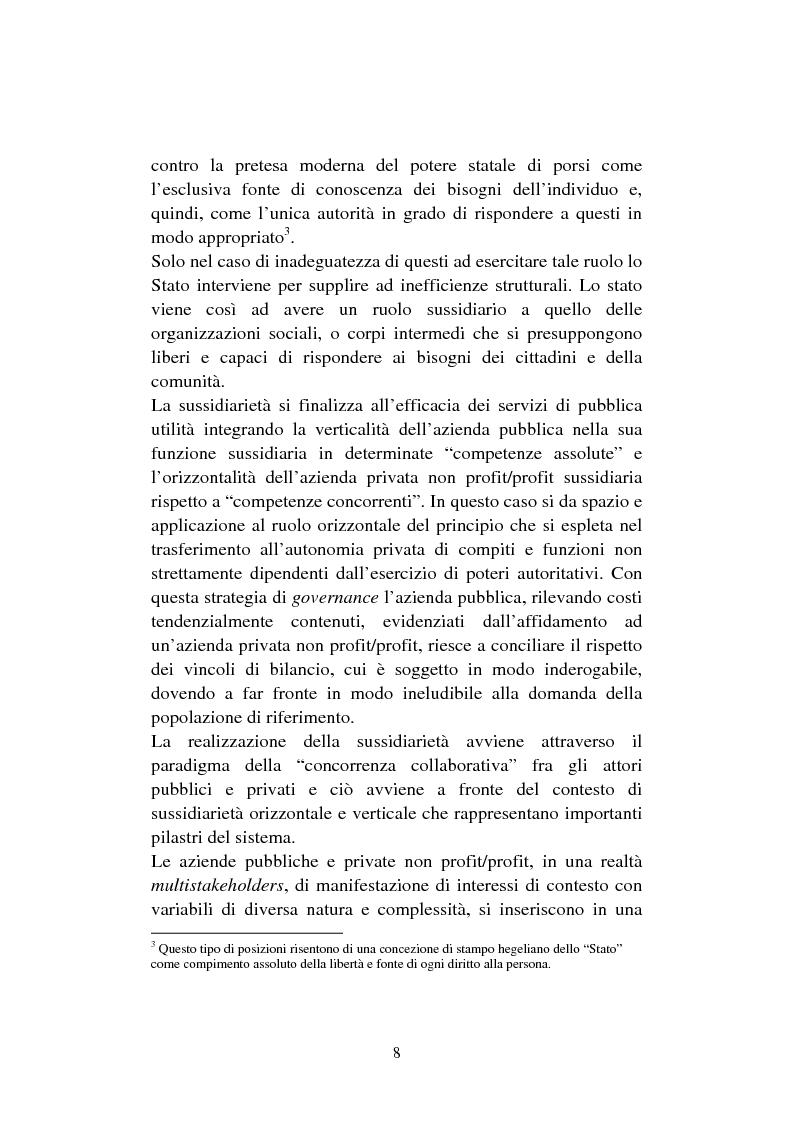 Anteprima della tesi: Le organizzazioni non profit. Il caso polisportiva Paolo Poggi, Pagina 10