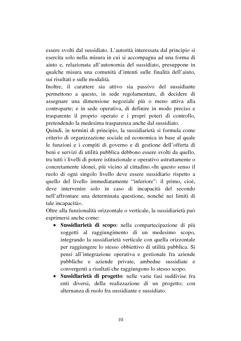Anteprima della tesi: Le organizzazioni non profit. Il caso polisportiva Paolo Poggi, Pagina 12