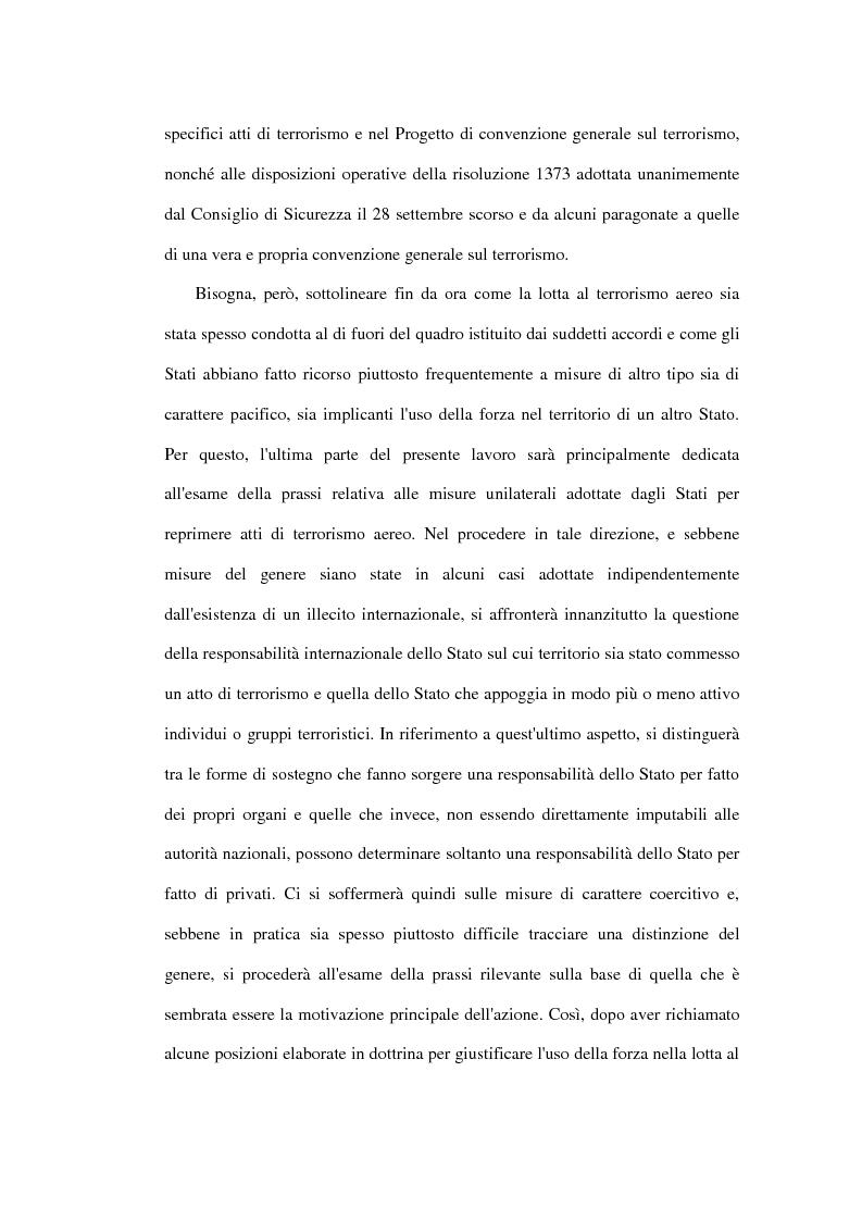 Anteprima della tesi: Il terrorismo aereo ed il diritto internazionale attuale, Pagina 7
