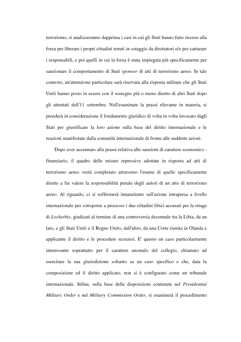 Anteprima della tesi: Il terrorismo aereo ed il diritto internazionale attuale, Pagina 8