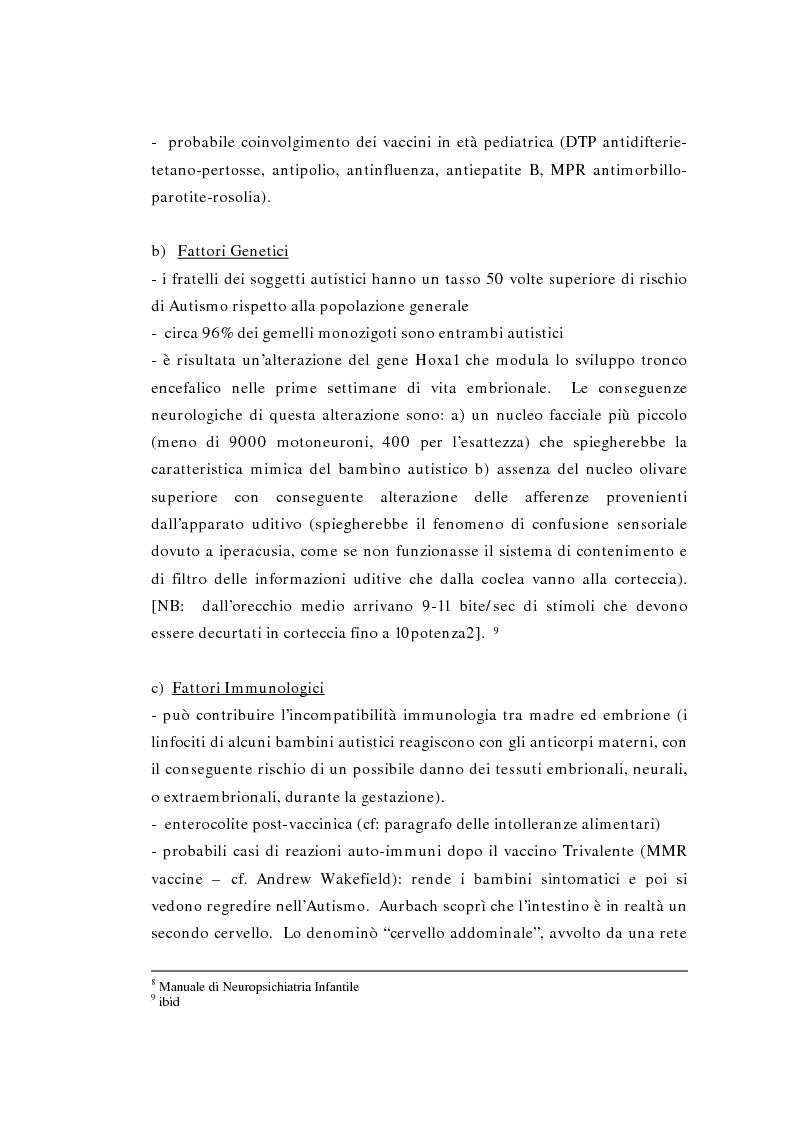 Anteprima della tesi: Il ruolo della logopedia nella riabilitazione del bambino autistico, Pagina 13