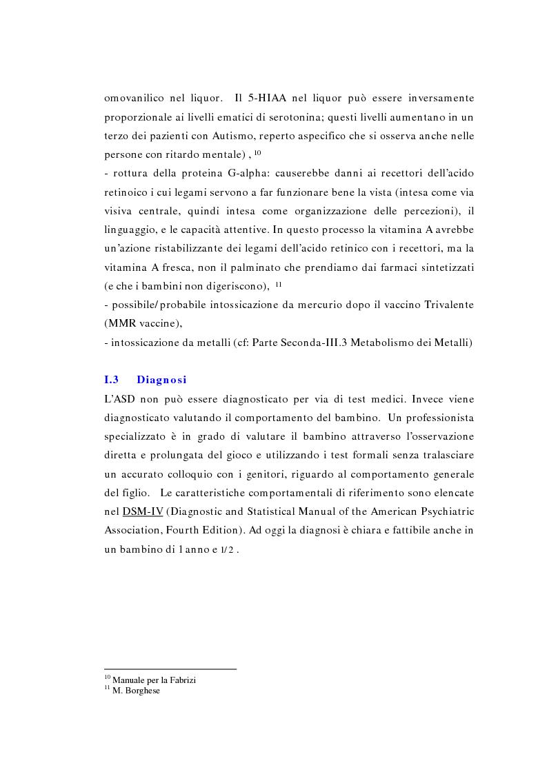 Anteprima della tesi: Il ruolo della logopedia nella riabilitazione del bambino autistico, Pagina 15