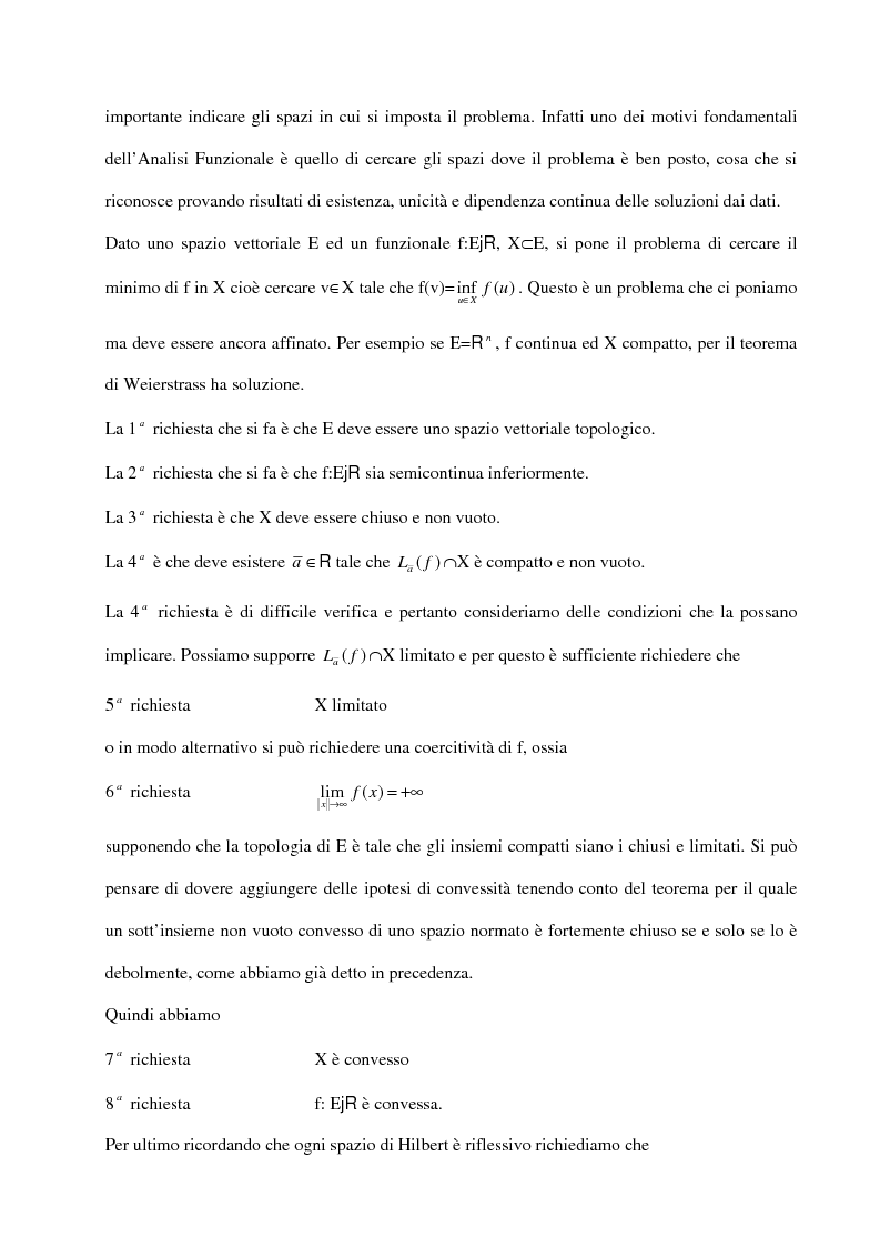Anteprima della tesi: Metodi variazionali, Pagina 2