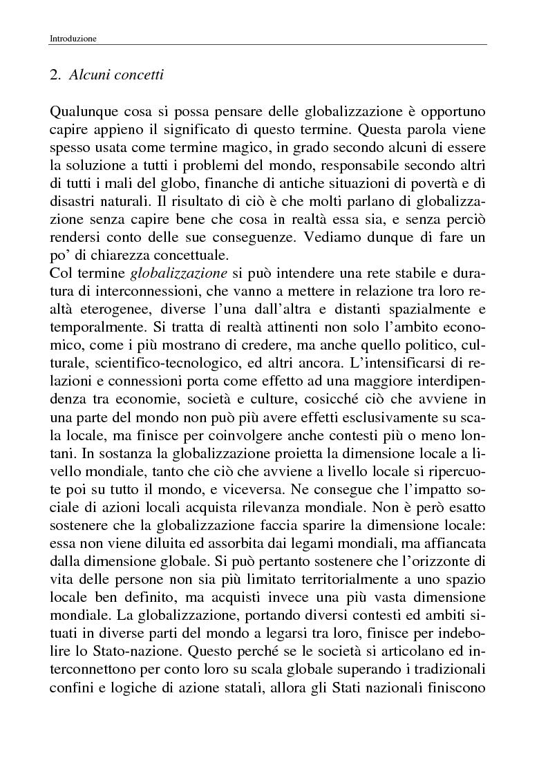 Anteprima della tesi: I movimenti no-global: natura, idee, evoluzione, Pagina 4