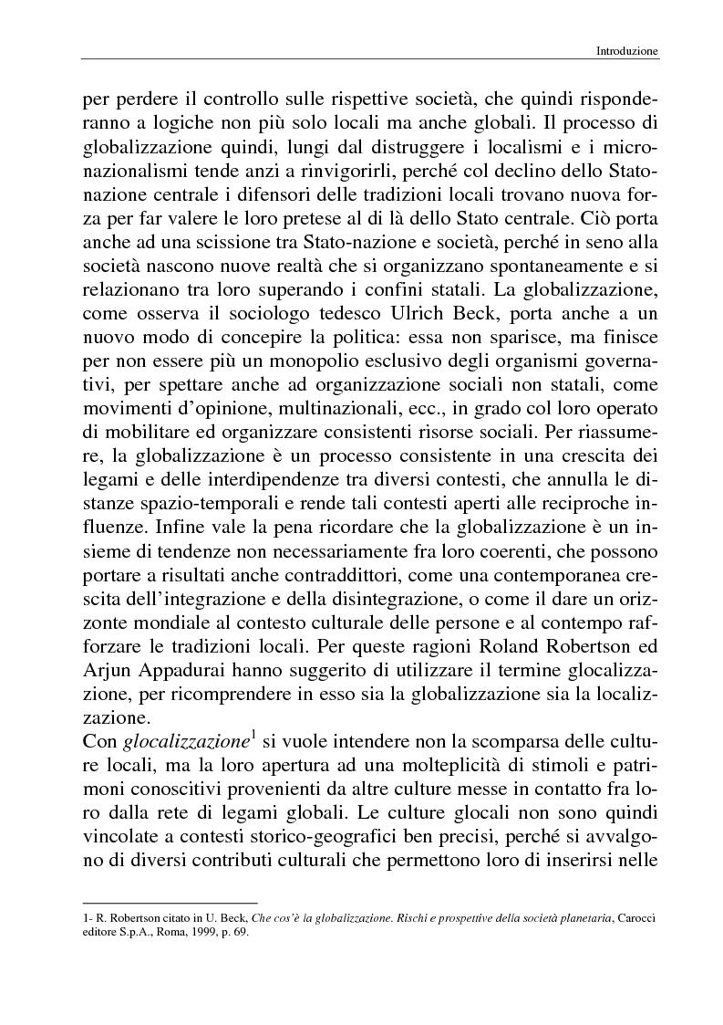 Anteprima della tesi: I movimenti no-global: natura, idee, evoluzione, Pagina 5