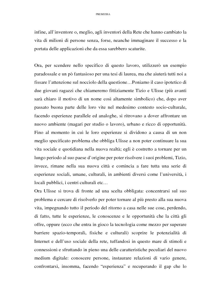 Anteprima della tesi: Relazioni sociali mediate dal computer: esaltazione ed emancipazione delle diversità nell'era della globalizzazione, Pagina 6
