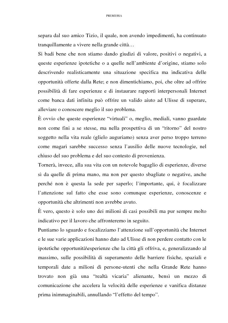 Anteprima della tesi: Relazioni sociali mediate dal computer: esaltazione ed emancipazione delle diversità nell'era della globalizzazione, Pagina 7