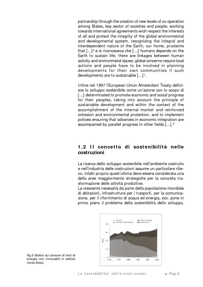 Anteprima della tesi: Potenzialità e limiti del calcestruzzo cellulare autoclavato secondo i criteri di sostenibilità ambientale e di eco-efficienza del prodotto, Pagina 4
