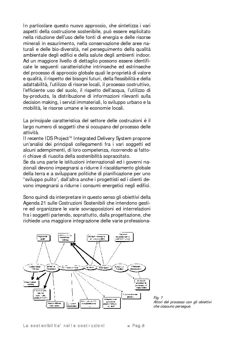 Anteprima della tesi: Potenzialità e limiti del calcestruzzo cellulare autoclavato secondo i criteri di sostenibilità ambientale e di eco-efficienza del prodotto, Pagina 7