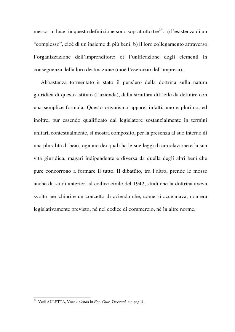 Anteprima della tesi: La cessione di azienda nel diritto tributario, Pagina 14