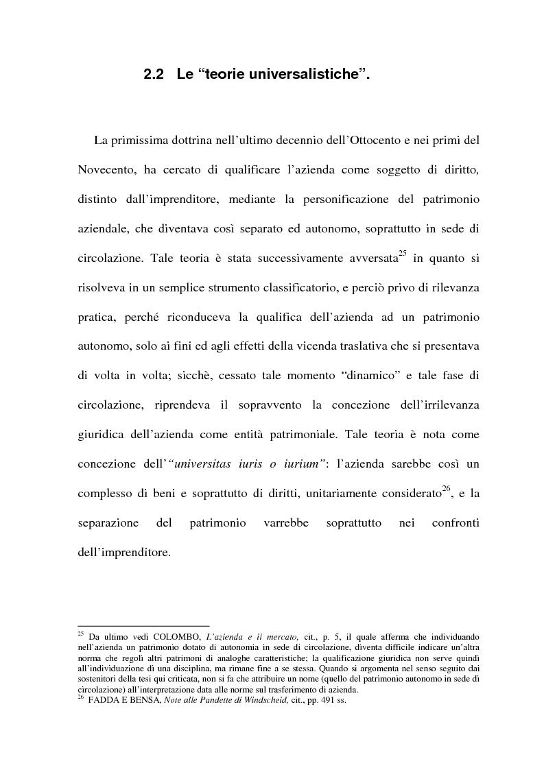 Anteprima della tesi: La cessione di azienda nel diritto tributario, Pagina 15