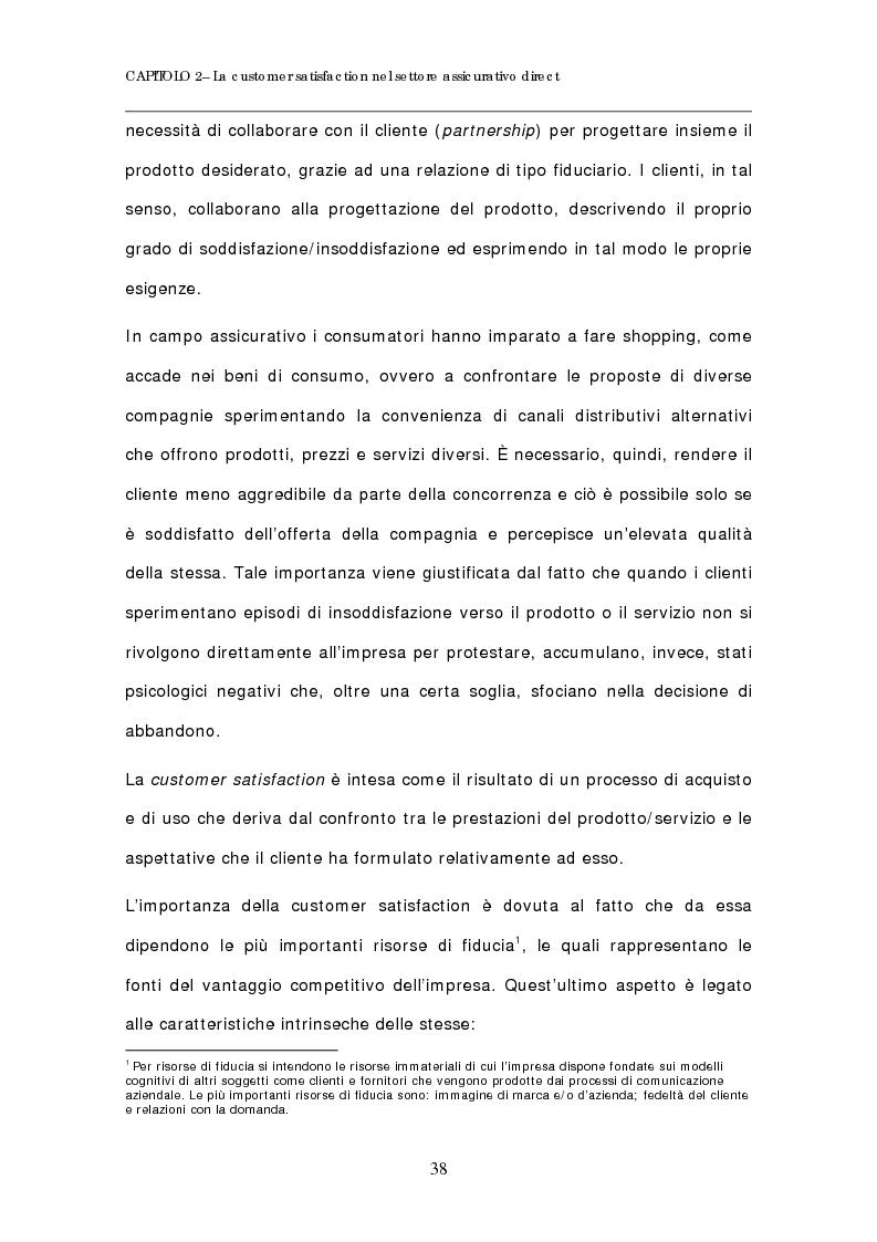Anteprima della tesi: Evoluzione del comportamento d'acquisto dei prodotti assicurativi. Il caso delle polizze telefoniche e on line, Pagina 3