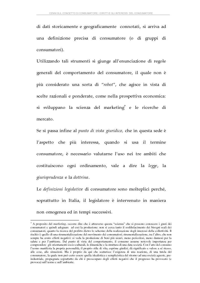 Anteprima della tesi: La tutela dei consumatori e l'attività delle Camere di Commercio italiane, Pagina 11