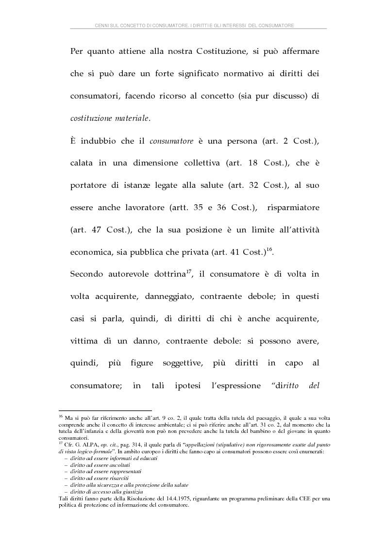 Anteprima della tesi: La tutela dei consumatori e l'attività delle Camere di Commercio italiane, Pagina 14
