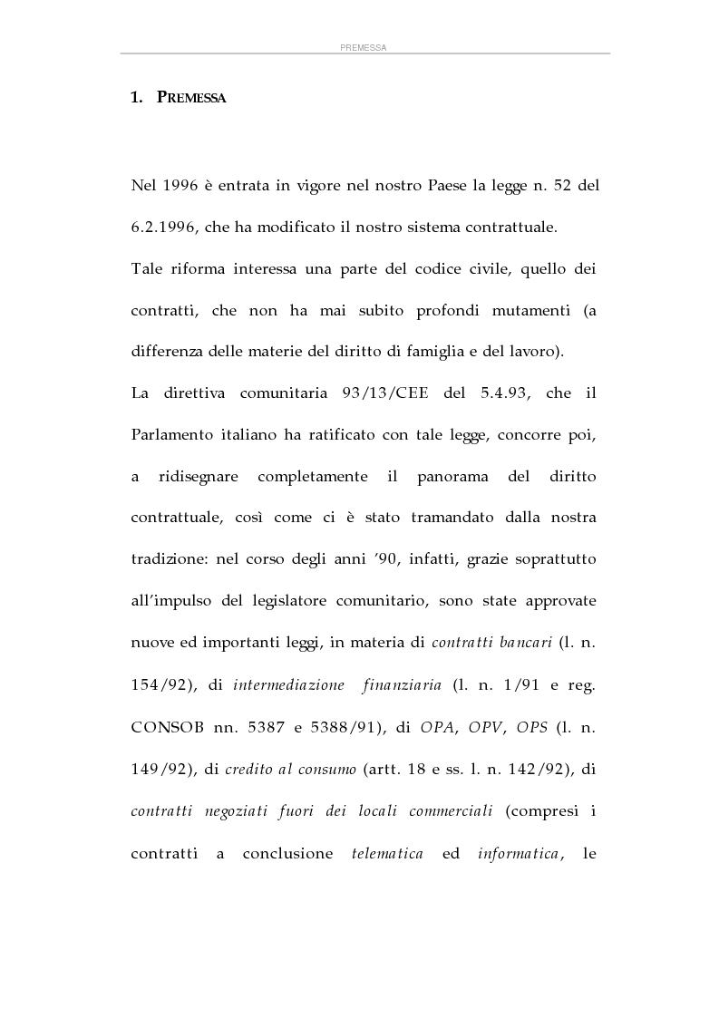 Anteprima della tesi: La tutela dei consumatori e l'attività delle Camere di Commercio italiane, Pagina 2