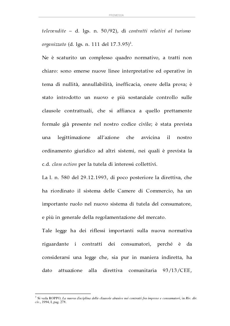 Anteprima della tesi: La tutela dei consumatori e l'attività delle Camere di Commercio italiane, Pagina 3