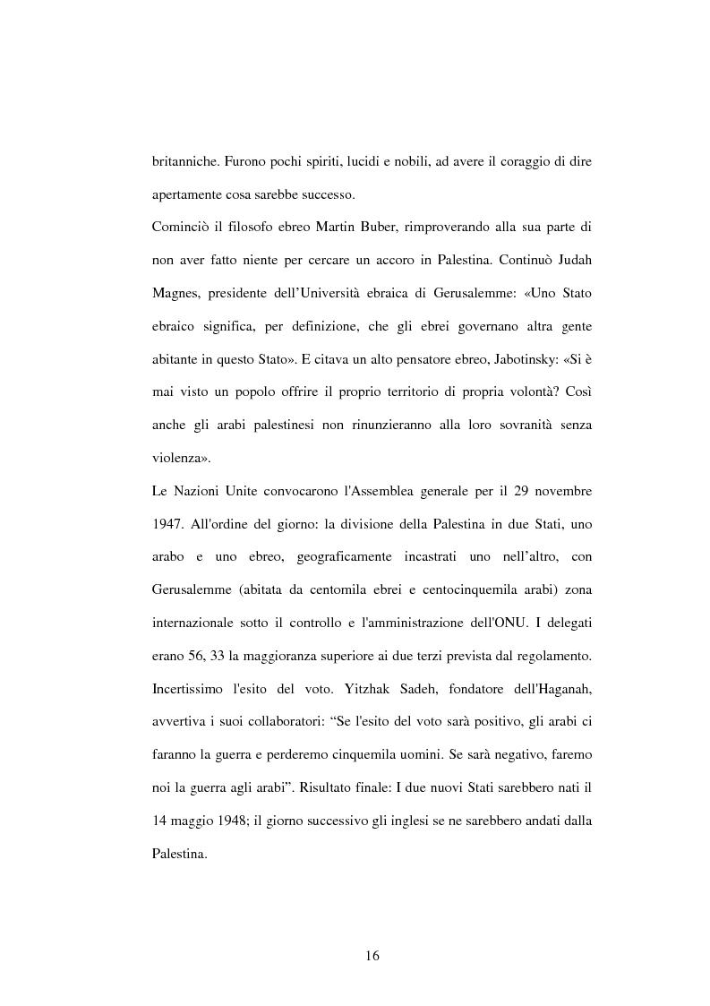 Anteprima della tesi: I recenti sviluppi della crisi israelo-palestinese alla luce del diritto internazionale, Pagina 11