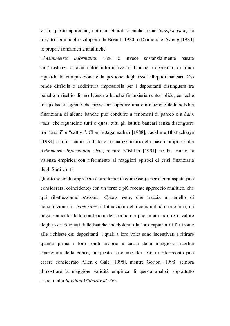 Anteprima della tesi: Rischio sistemico e crisi finanziarie: il ruolo della liquidità e del sistema interbancario, Pagina 6
