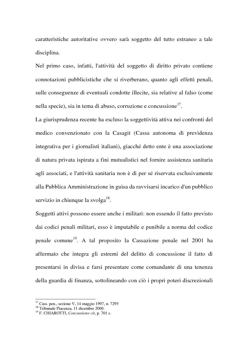 Anteprima della tesi: Concussione, Pagina 12