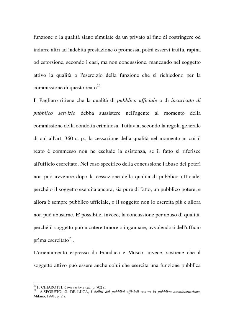 Anteprima della tesi: Concussione, Pagina 14