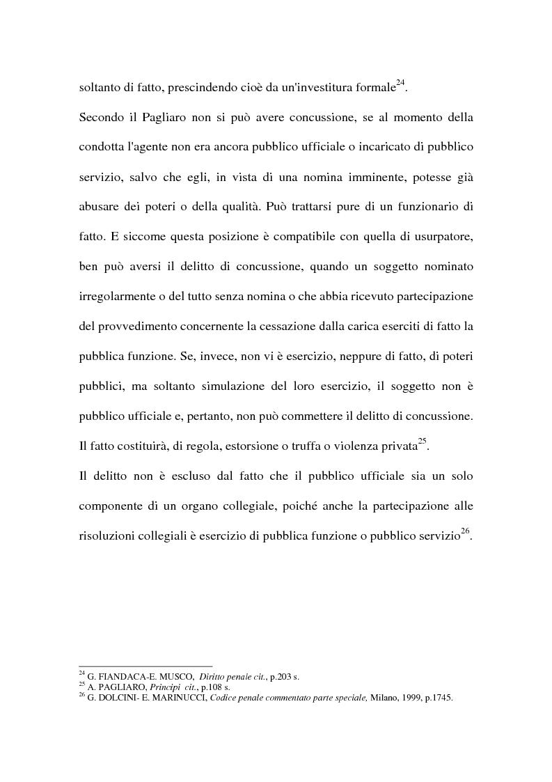 Anteprima della tesi: Concussione, Pagina 15