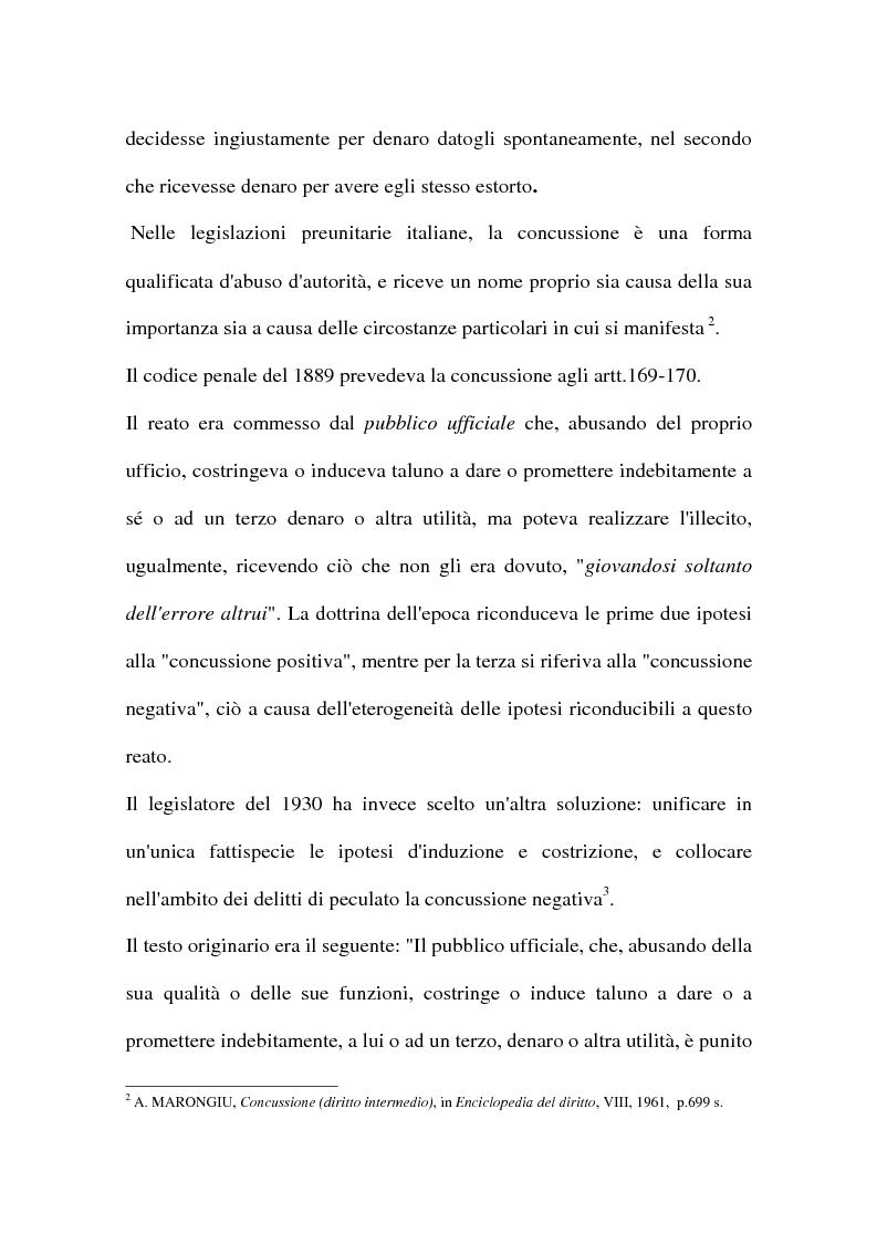 Anteprima della tesi: Concussione, Pagina 2