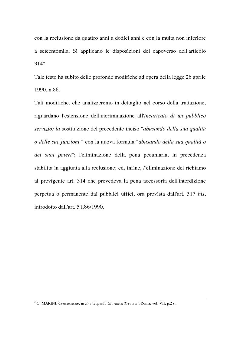 Anteprima della tesi: Concussione, Pagina 3