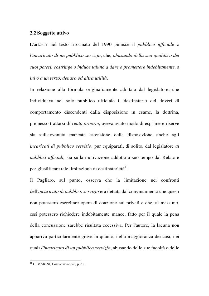 Anteprima della tesi: Concussione, Pagina 7