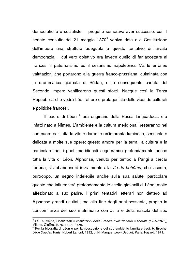 Anteprima della tesi: Lèon Daudet: nazionalismo integrale e polemica antidemocratica, Pagina 2