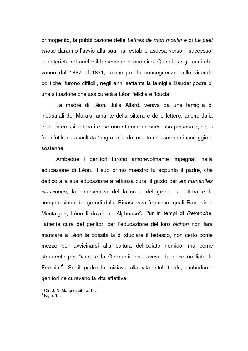 Anteprima della tesi: Lèon Daudet: nazionalismo integrale e polemica antidemocratica, Pagina 3