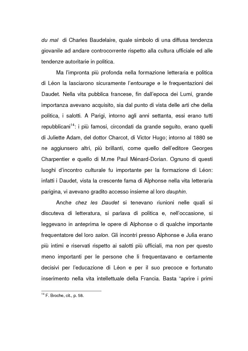 Anteprima della tesi: Lèon Daudet: nazionalismo integrale e polemica antidemocratica, Pagina 6
