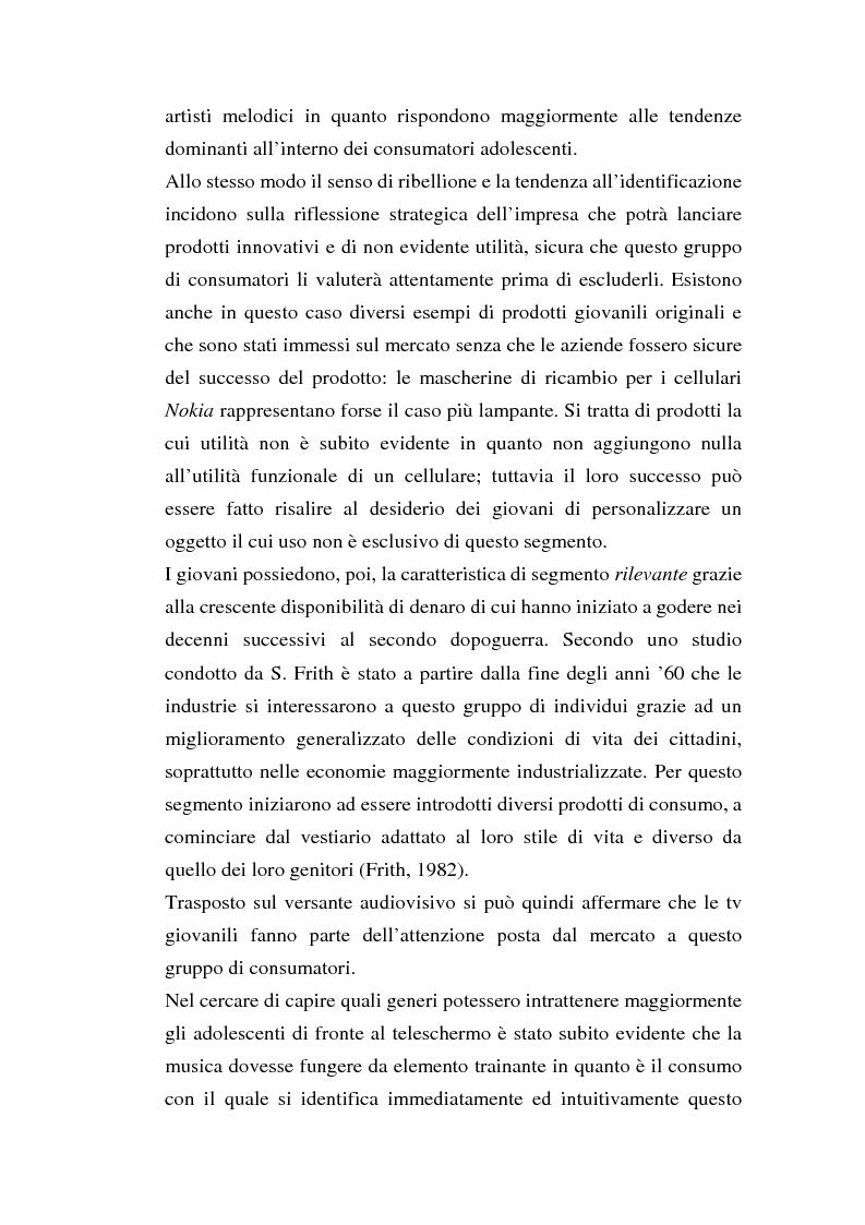 Anteprima della tesi: MTV Italia: strategie di coinvolgimento dei giovani glocali, Pagina 13