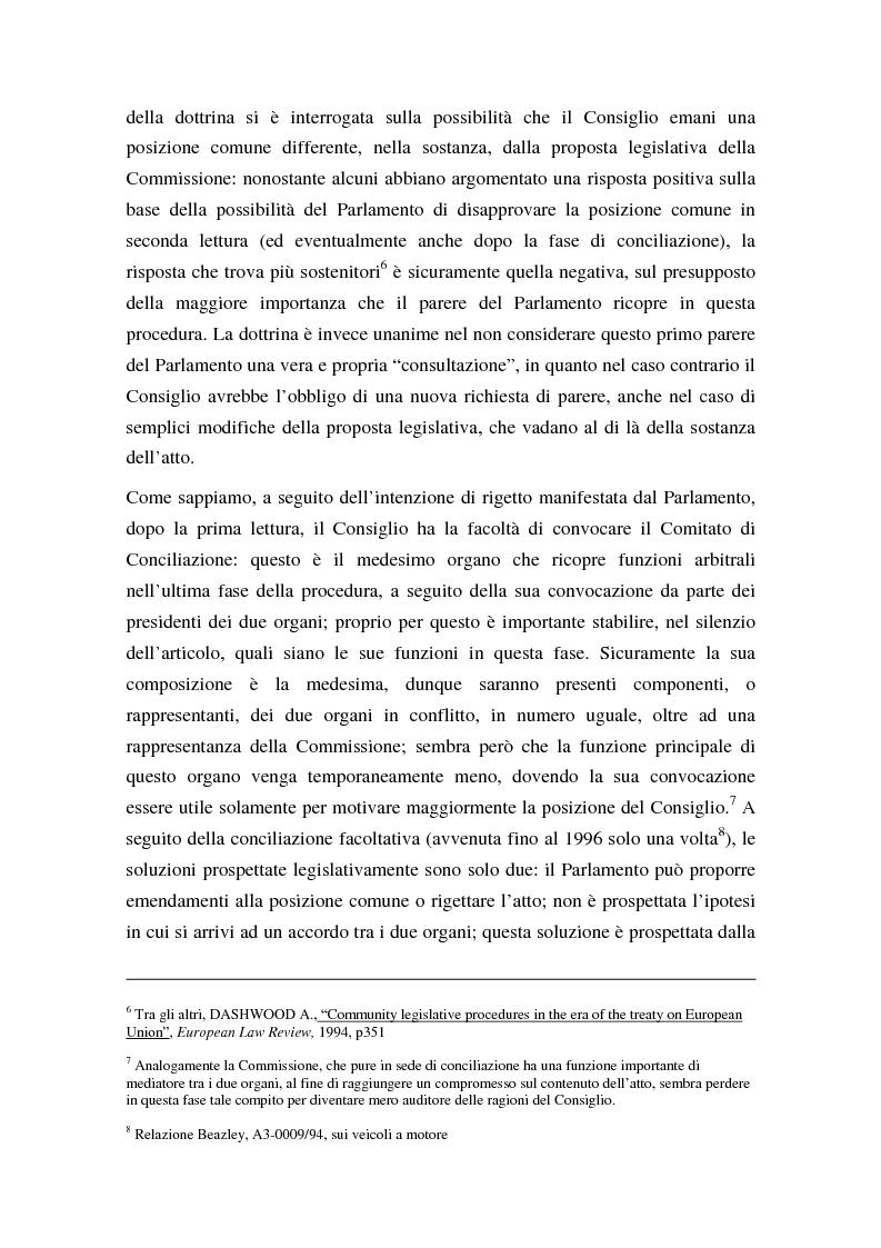 Anteprima della tesi: La procedura di codecisione, Pagina 8