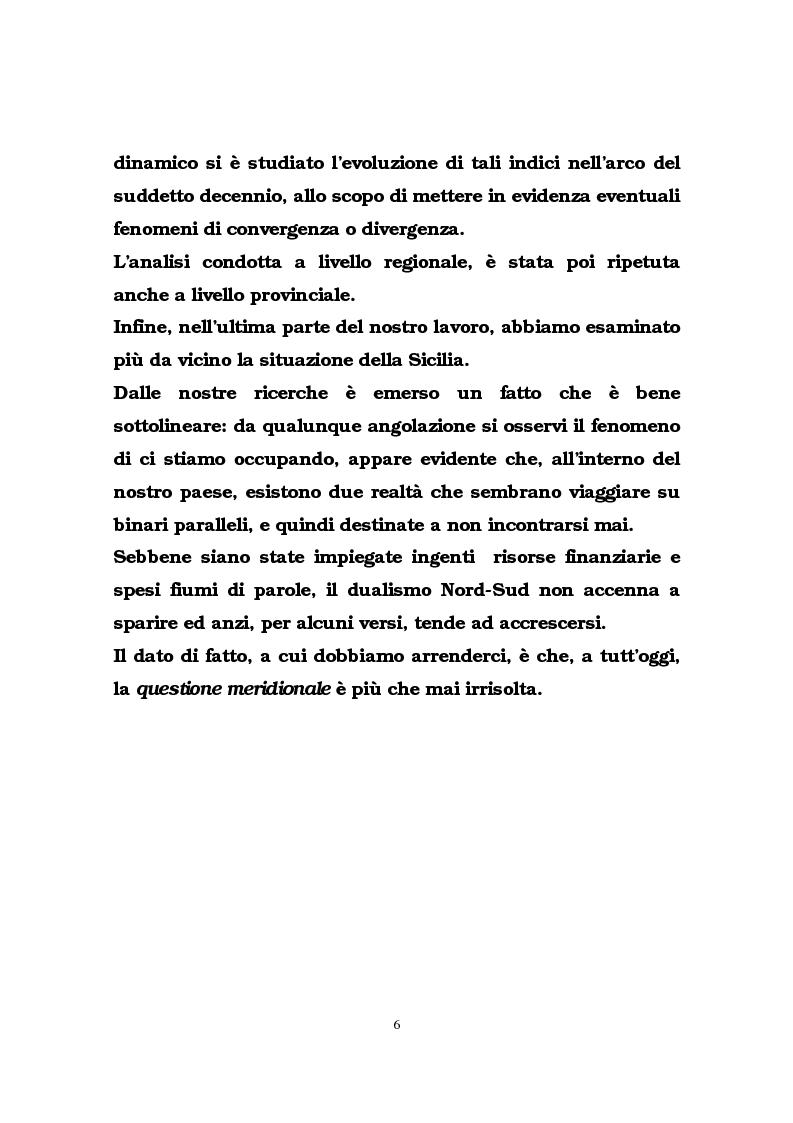 Anteprima della tesi: Il ruolo delle infrastrutture pubbliche nello sviluppo regionale italiano, Pagina 3
