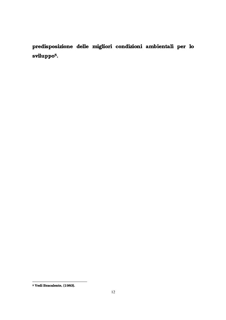 Anteprima della tesi: Il ruolo delle infrastrutture pubbliche nello sviluppo regionale italiano, Pagina 9
