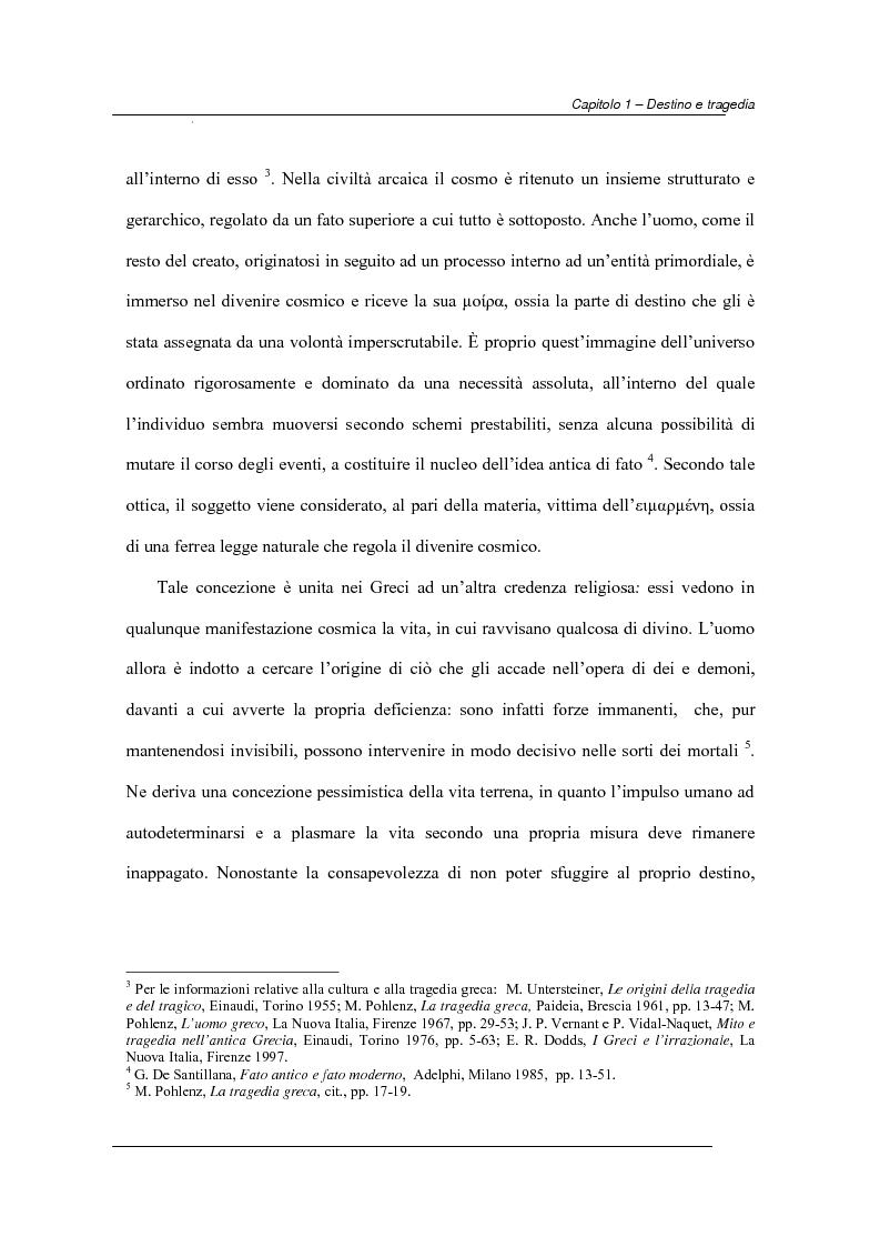 Anteprima della tesi: Antiche e moderne idee di destino nella tragedia elisabettiana e giacomiana con particolare riferimento all'opera di John Webster, Pagina 3