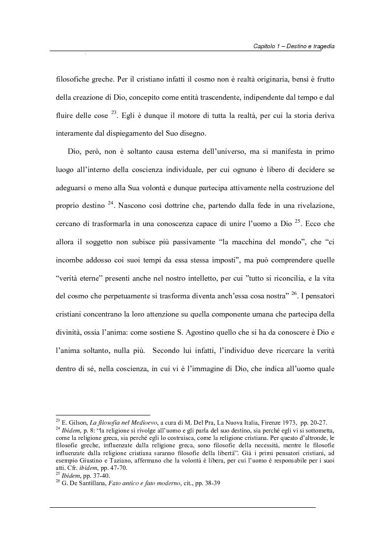 Anteprima della tesi: Antiche e moderne idee di destino nella tragedia elisabettiana e giacomiana con particolare riferimento all'opera di John Webster, Pagina 9