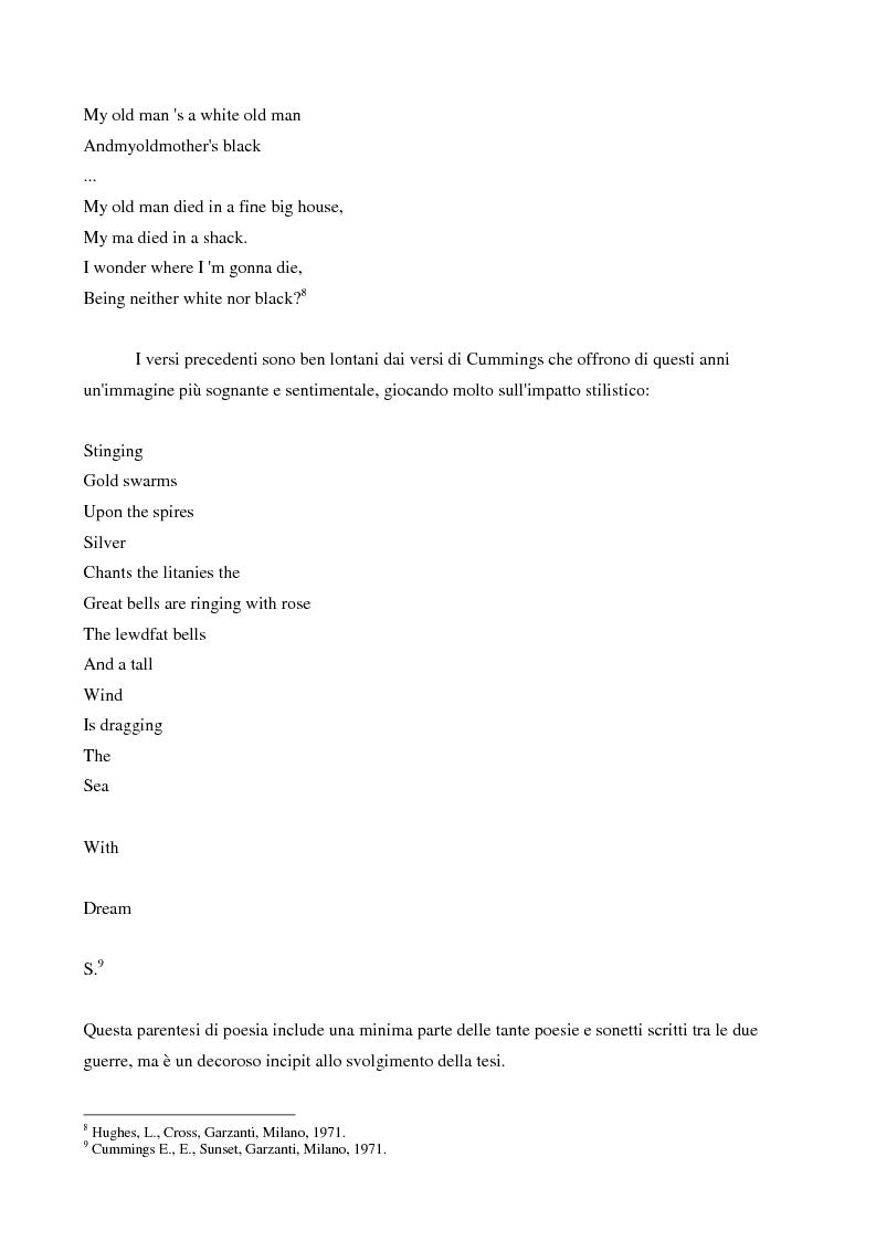 Anteprima della tesi: Forme letterarie del discorso socio-politico degli anni venti e trenta negli Stati Uniti d'America, Pagina 6