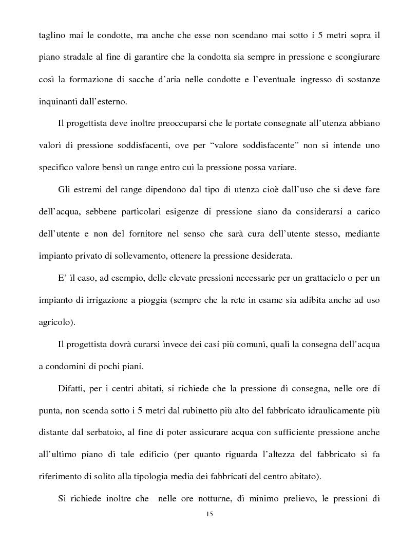 Anteprima della tesi: Calcolo delle reti idrauliche in pressione mediante una tecnica mista algoritmi genetici / metodo Gauss-Newton, Pagina 13